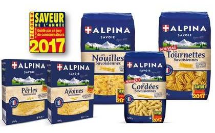 les p 226 tes alpina savoie r 233 compens 233 es aux saveurs de l 233 e 2017 alpina savoie