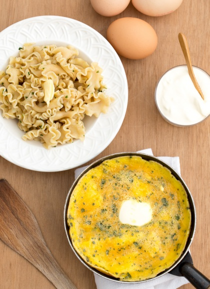 Trompettes aux chanterelles omelette l ancienne - Cuisiner la chanterelle ...